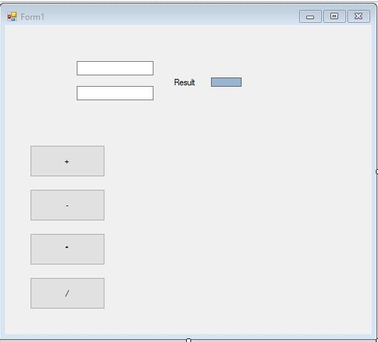 کد ماشین حسابدر ویندوز فرم به زبان سی شارپ c#
