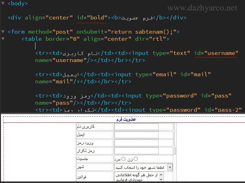 استایل دهی به صفحات وب-استایل دهی در css