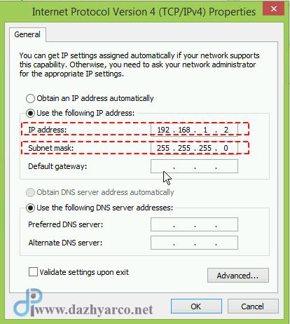 اتصال مودم ADSL به میکروتیک - تنظیم ip کامپیوتر
