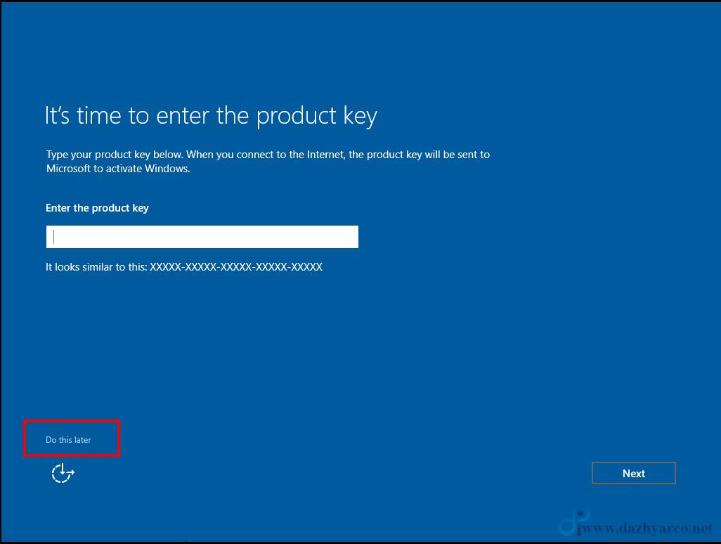 نصب ویندوز سرور 2016 در vmware | دادن product key