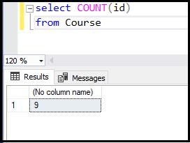 دستور count در SQL | استفاده از فیلد id برای شمارش