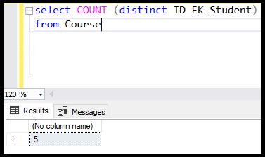 دستور count در SQL | جلوگیری از تکرار در شمارش دستور count