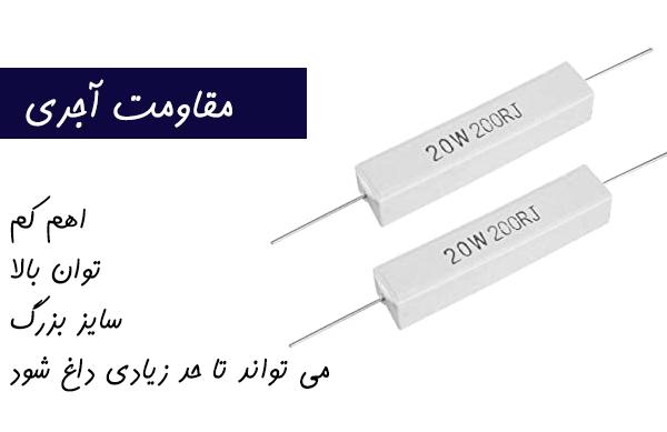 مقاومت الکتریکی | آجری