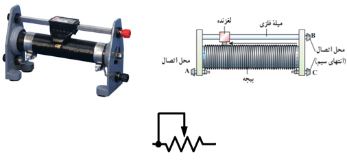 مقاومت الکتریکی | رئوستا
