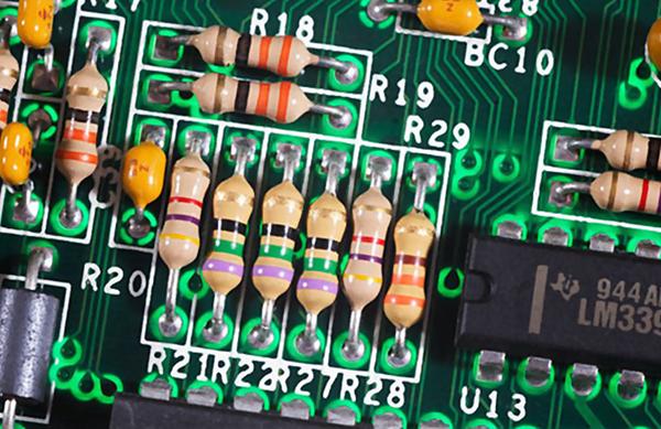 مقاومت الکتریکی | pth روی برد