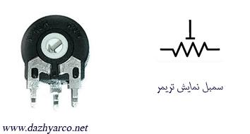 مقاومت الکتریکی | تریمر
